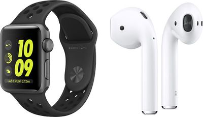 apple watch nike airpods