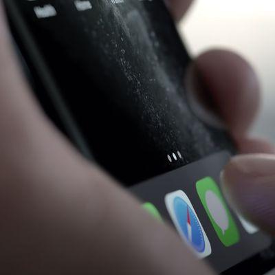 iphone 11 pro display video