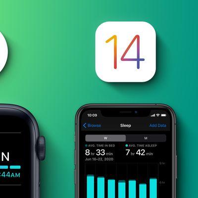iOS 14 watchOS 7 Sleep Tracking Feature 1