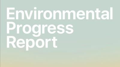 environmental progress report 2021