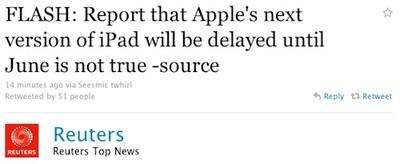 114523 reuters ipad delays