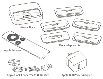 153309 universal dock included