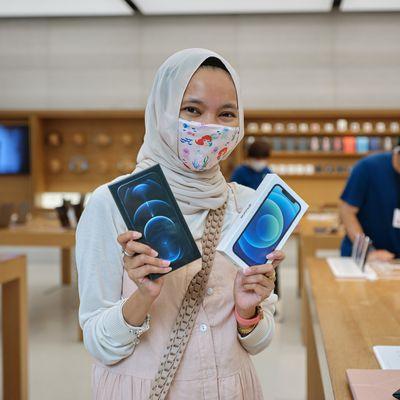 Apple iphone12 iphone12pro ipadair availability singapore 02 10222020