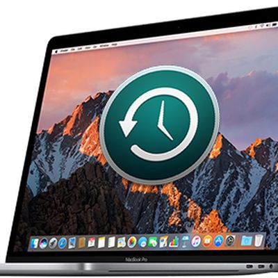 time machine 2016 macbook pro