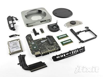 mac mini 2011 ifixit teardown