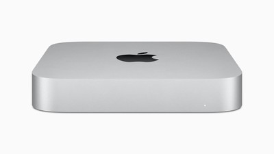 Apple new mac mini silver 11102020