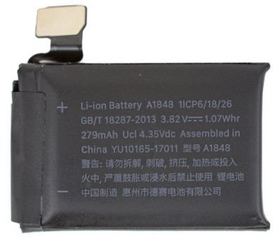 apple watch series 3 battery