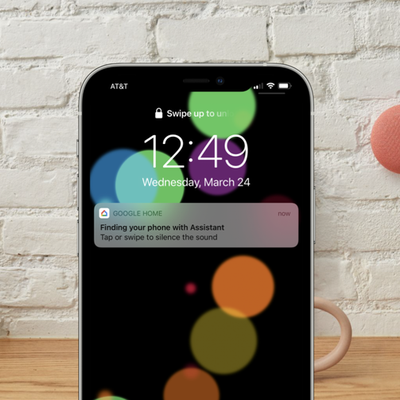google Assistant find my iphone