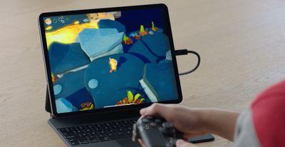 gaming motion sensor support ipados 12