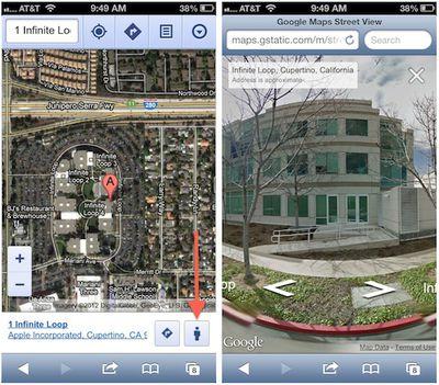 google web street view apple
