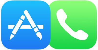 app store phone icons