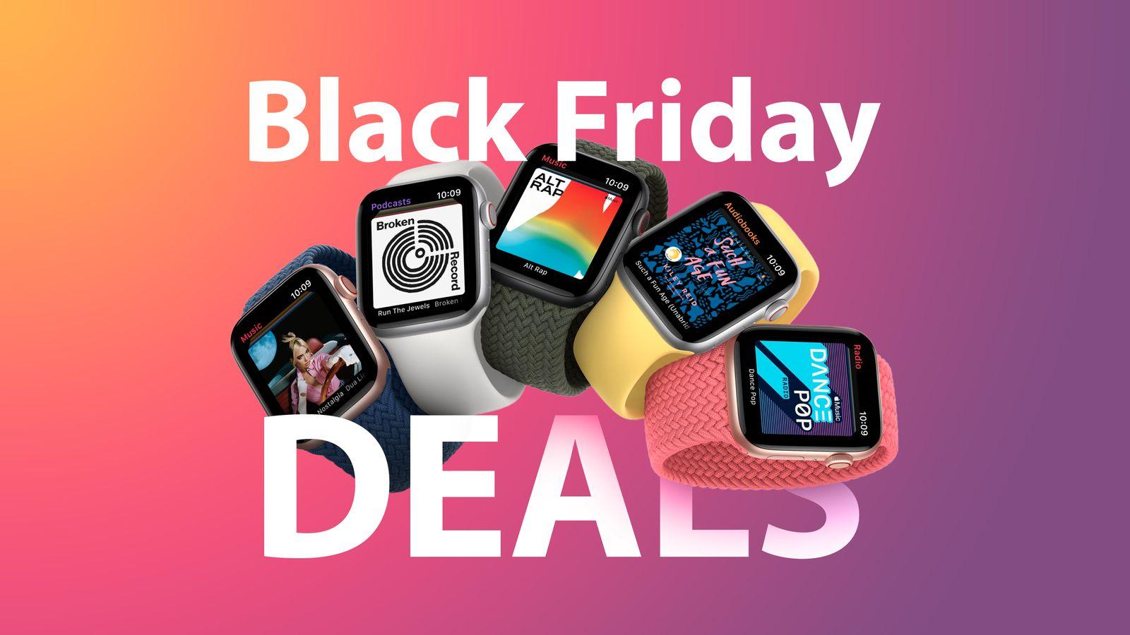 Apple Black Friday 2020 Best Apple Watch Deals Updated Macrumors