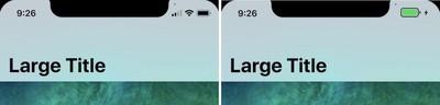 iphone x status bar 2