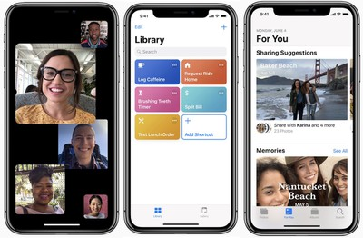 ios 12 facetime siri photos