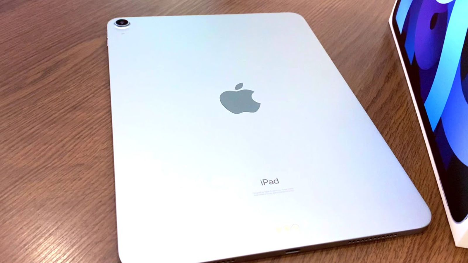 photo of First iPad Air 4 Unboxing Video Shared Online image