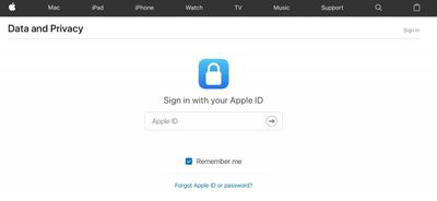 get a copy of your apple data