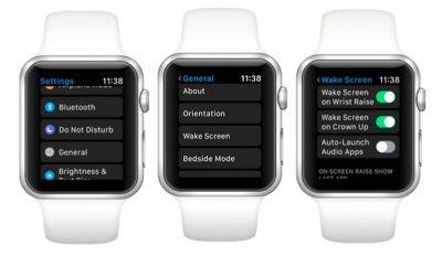 apple watch auto launch audio apps