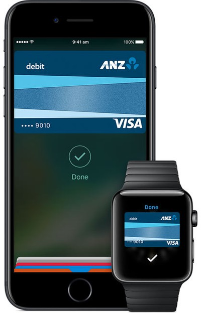 apple pay anz