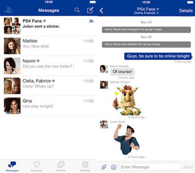 playstationmessages