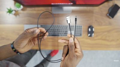 black lightning to usb cable