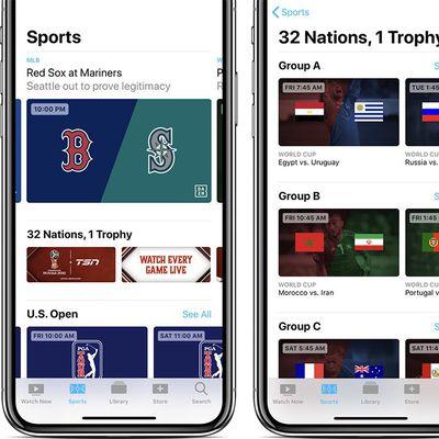 apple tv app sports canada