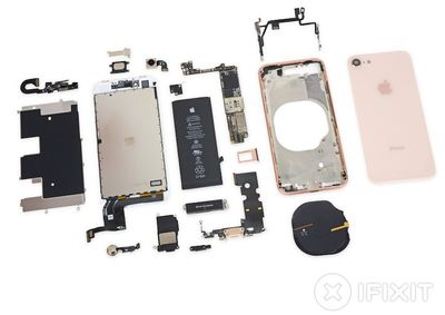 ifixit teardown iphone 8