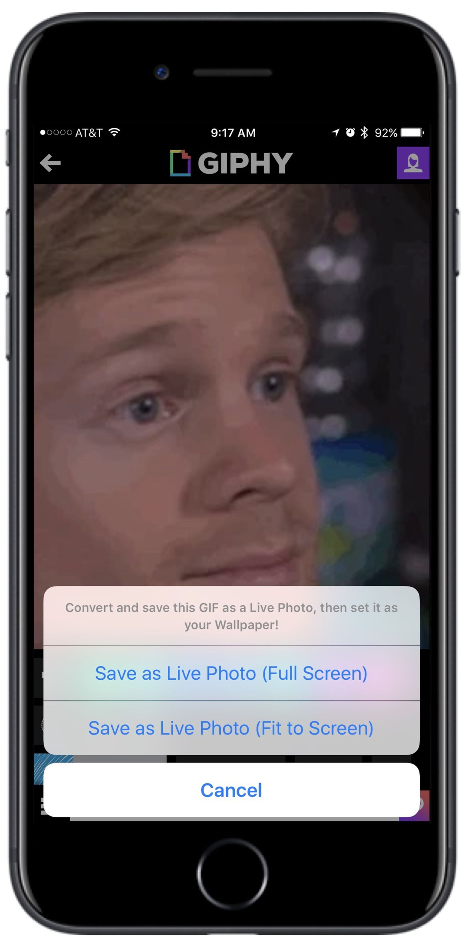 Giphy Ios App Gains Ability To Turn Gifs Into Live Photos Macrumors