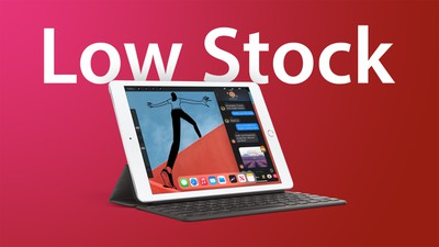 8th gen iPad low stock feature 1