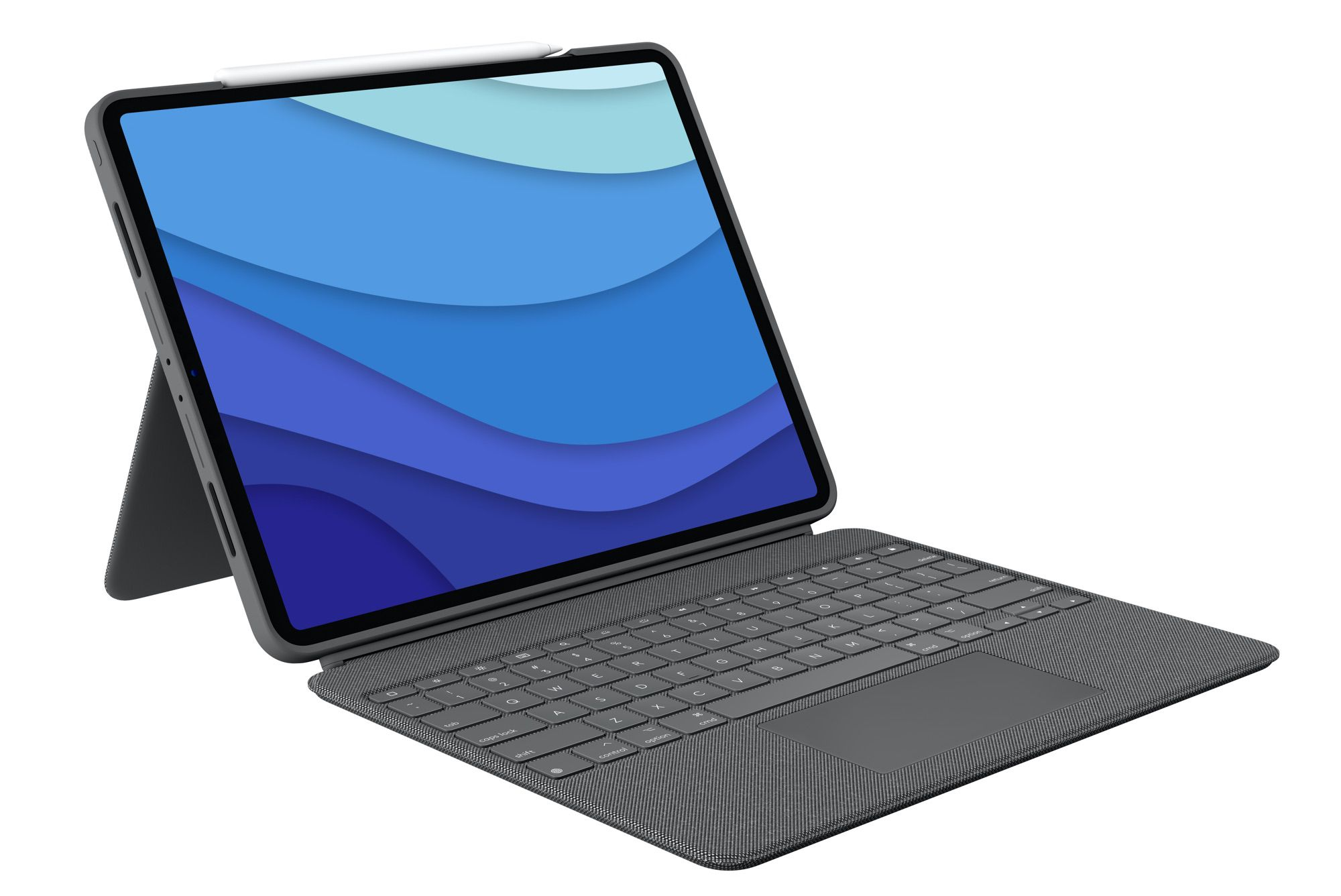 Logitech is launching the Combo Touch keyboard and trackpad case for the latest iPad devices