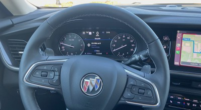 buick envision steering