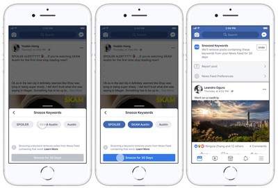 facebook snooze techcrunch