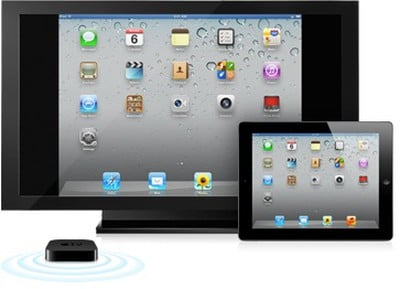 airplay mirroring ipad 2