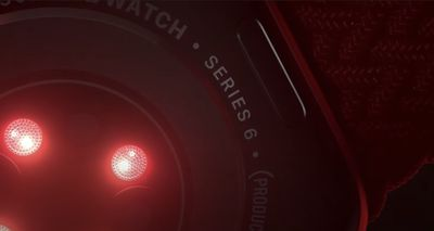 apple watch series 6 product red back