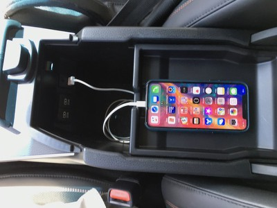2019 avalon phone console