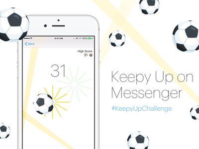 Messenger soccer game