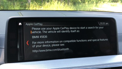 bmw carplay pair