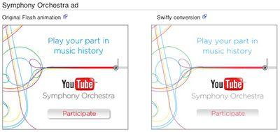 swiffy symphony orchestra comparison still