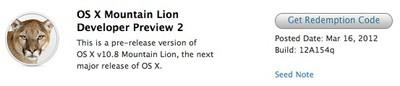 mountain lion developer preview 2