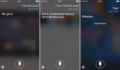 Apple Music and Siri 7