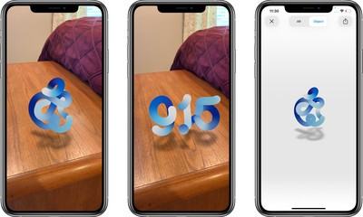 Apple's September 15 Event Page Includes Morphing AR Logo