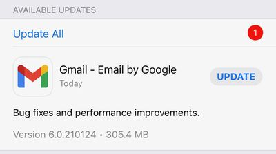 gmail updated