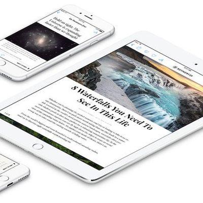 apple news iphone ipad