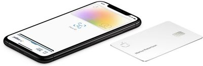 apple card with iphone