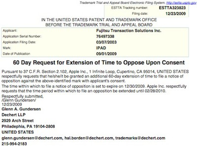 153247 apple ipad opposition