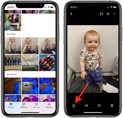 2how to use the messaging feature in Google Photos
