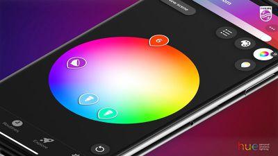 philips hue app update color pickers