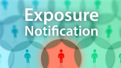 Exposure Notifications W People and Text
