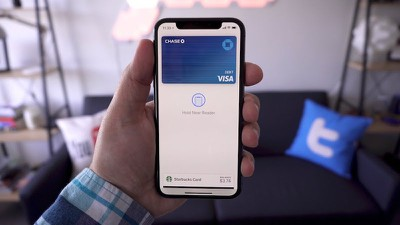 apple pay on iphone x