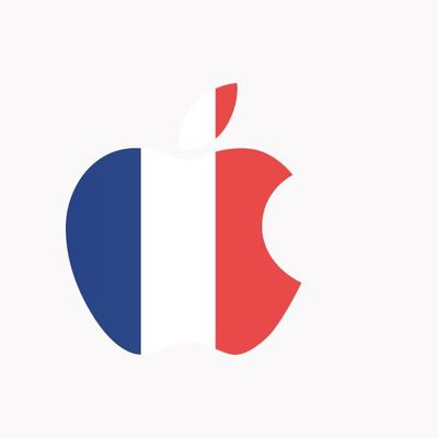 apple france logo
