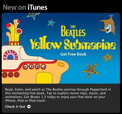 yellow submarine itunes email